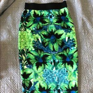 Apt 9 tropical body skirt!